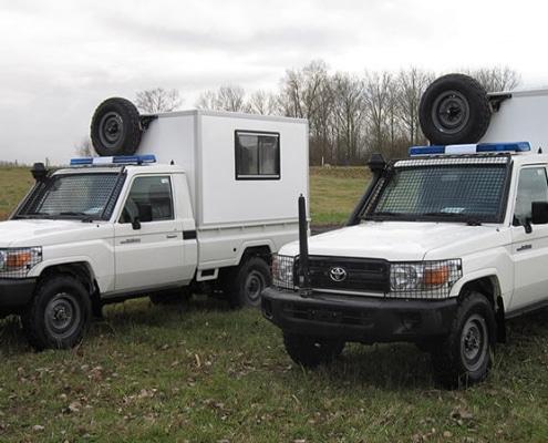 Command Vehicles