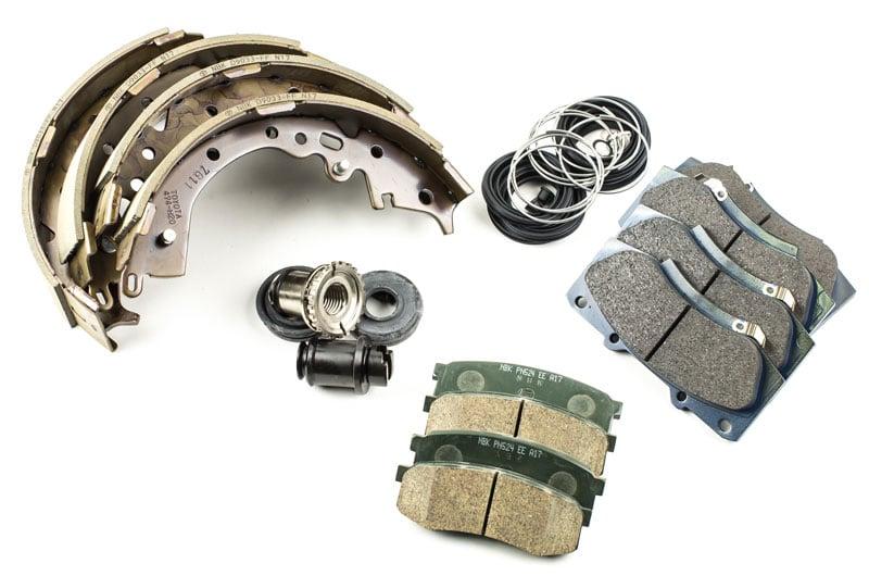 Spare parts vehicles