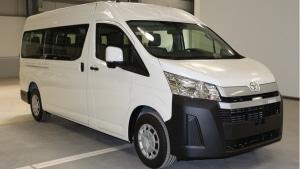 Toyota Hiace Commuter 2WD LWB 3.5L Petrol High Roof Microbus