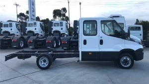 Iveco Daily 3.0L TurboDiesel 4WD Chassis Double Cabin