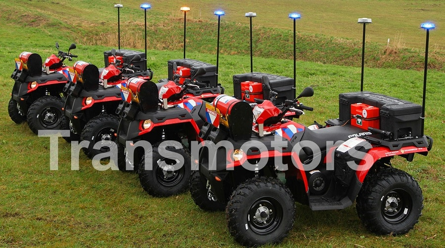 Fire fighting quads