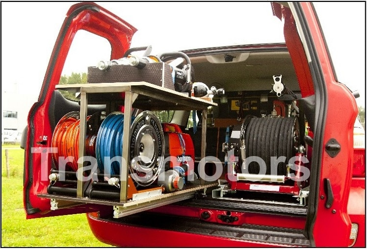 Fire fighting car