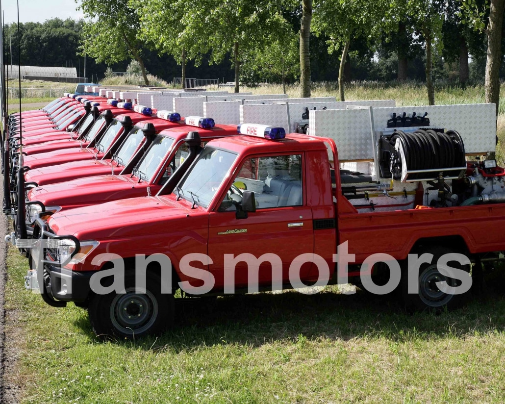 Fire fighting cars