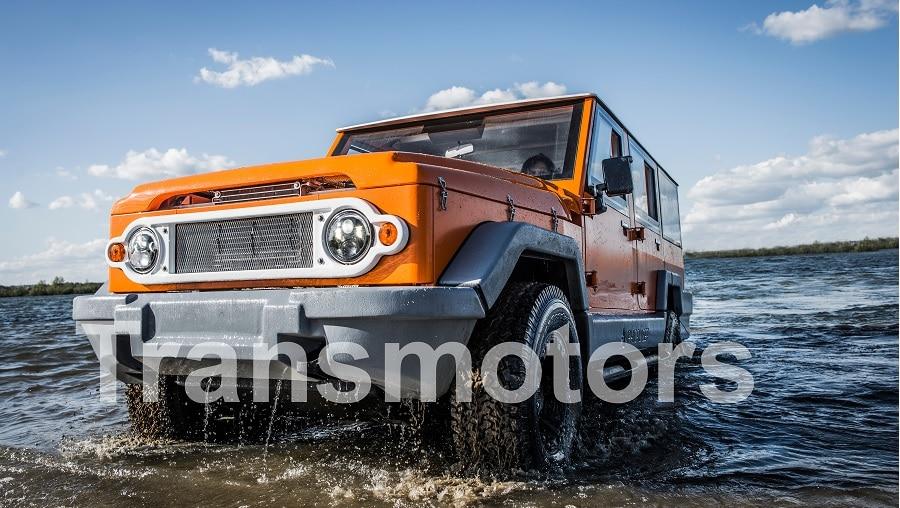 Orange truck Tourism